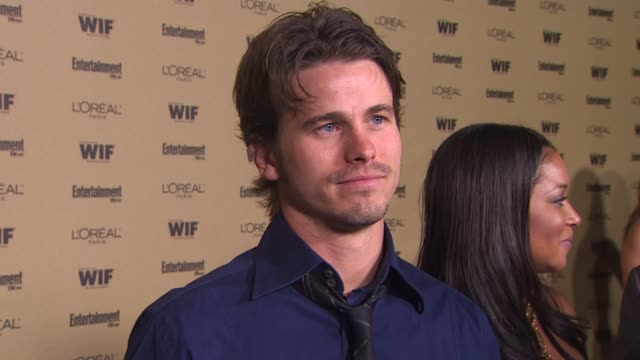 jason ritter at the entertainment weekly and women in film pre-emmy party at west hollywood ca. - pre emmy party stock videos & royalty-free footage