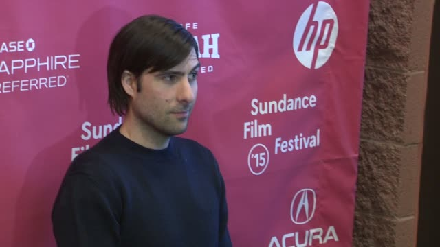 """jason schwartzman at """"the overnight"""" world premiere - 2015 sundance film festival at eccles center theatre on january 23, 2015 in park city, utah. - park city stock videos & royalty-free footage"""