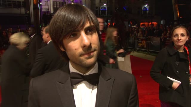 jason schwartzman on the things they did in the countryside and how it appeared in the film on staring at george clooney and what he learned from him... - jason george stock videos and b-roll footage