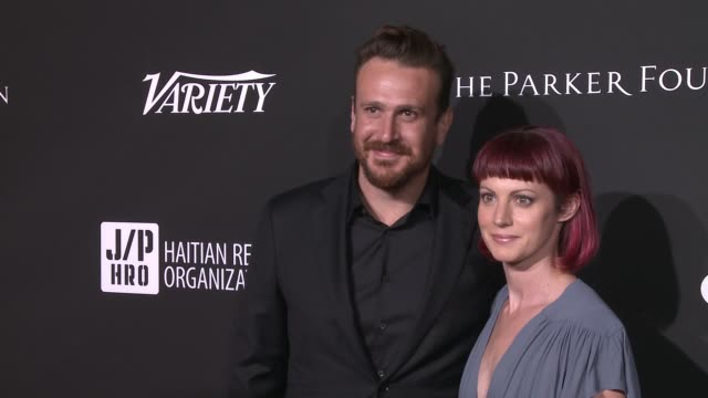 Jason Segel and Alexis Mixter at Sean Penn J/P HRO Gala Gala Dinner to Benefit J/P Haitian Relief Organization and a Coalition of Disaster Relief...