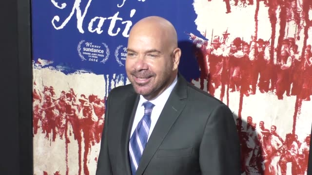 """jason stuart at """"the birth of a nation"""" premiere presented by fox searchlight at arclight cinemas cinerama dome on september 21, 2016 in hollywood,... - cinerama dome hollywood stock-videos und b-roll-filmmaterial"""