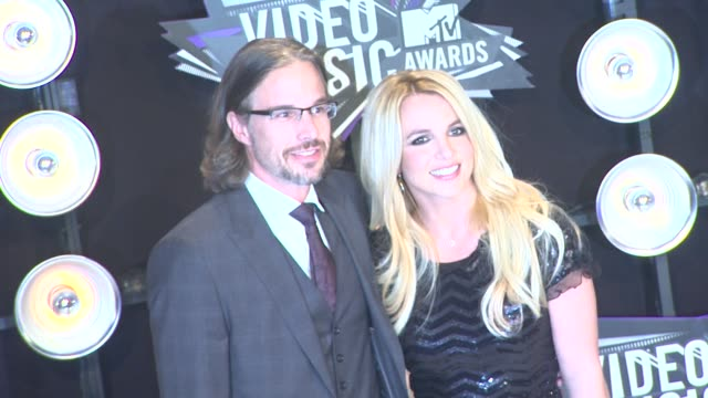 Jason Trawick Britney Spears at the 2011 MTV Video Music Awards at Los Angeles CA