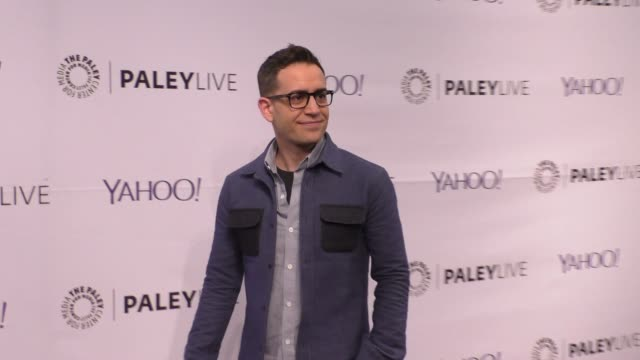 jason winer at the paleylive an evening with life in pieces at the paley center for media in beverly hills at celebrity sightings in los angeles on... - paley center for media los angeles stock videos & royalty-free footage