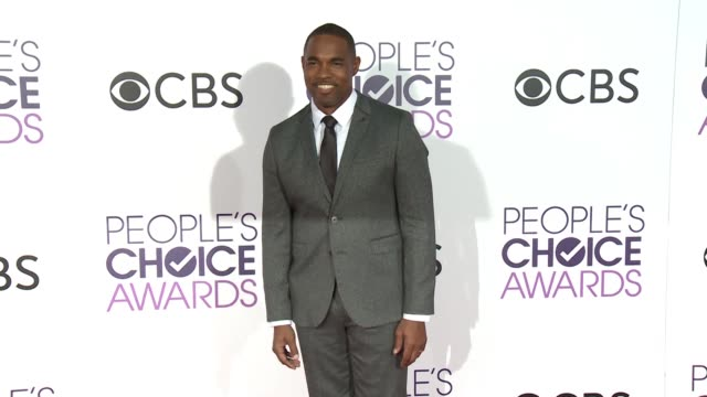 jason winston george at people's choice awards 2017 in los angeles ca - jason george stock videos and b-roll footage