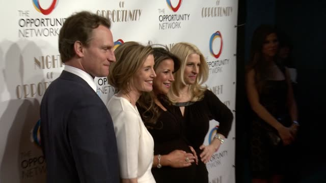 jason wright sallie krawcheck and jessica pliska at the opportunity networks 7th annual night of opportunity at cipriani wall street on april 07 2014... - cipriani wall street stock videos & royalty-free footage
