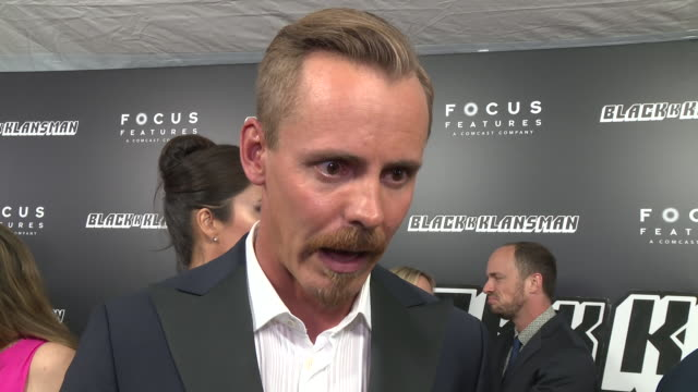 stockvideo's en b-roll-footage met interview jasper pääkkönen talks about the film and the true story that it's based on on why he think this film is relevant right now at... - première
