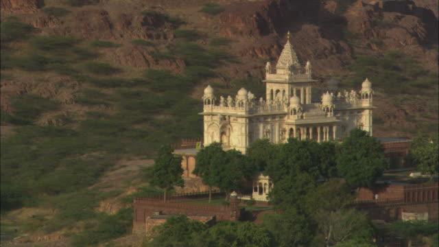 ms, ha, jaswant thada palace, jodhpur, rajasthan, india - palast stock-videos und b-roll-filmmaterial