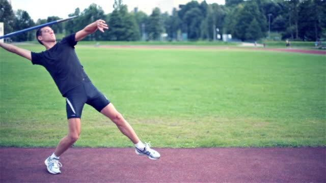 javelin thrower - javelin stock videos & royalty-free footage
