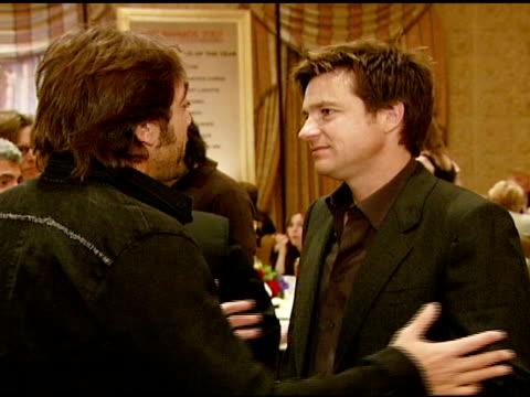 Javier Bardem and Jason Bateman at the 2007 AFI Awards Honors Creative Teams at Four Seasons Hotel in Los Angeles Calfironia on January 11 2008