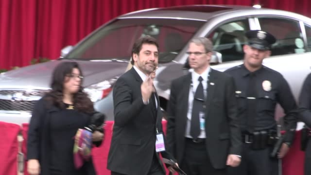 javier bardem arrives at sag awards at celebrity sightings in los angeles javier bardem arrives at sag awards at celebrity s at the shrine auditorium... - javier bardem stock videos and b-roll footage