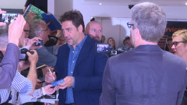javier bardem at celebrity sightings in cannes on may 09 2018 in cannes france - javier bardem stock videos and b-roll footage