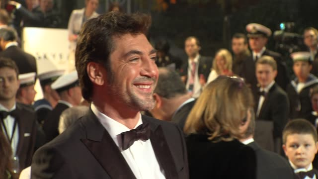 Javier Bardem at 'Skyfall' Royal World Premiere at Royal Albert Hall at Royal Albert Hall on October 23 2012 in London