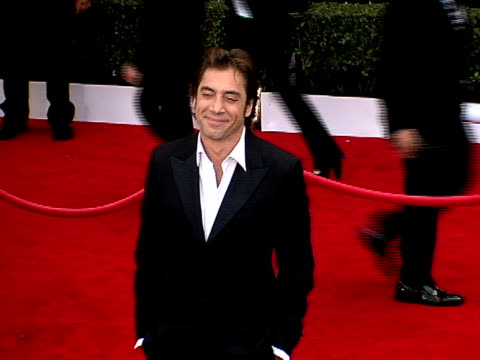 Javier Bardem at the 14th Annual Screen Actors Guild Awards at Los Angeles CA