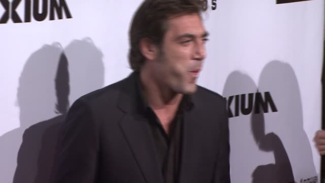 Javier Bardem at the 17th Annual Gotham Awards Presented by IFP at Steiner Studios in Brooklyn New York on November 27 2007