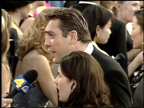 Javier Bardem at the 2001 Academy Awards at the Shrine Auditorium in Los Angeles California on March 25 2001