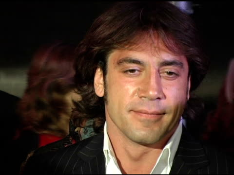 Javier Bardem at the 2005 Palm Springs International Film Festival Gala at Palm Springs Convention Center in Palm Springs California on January 8 2005