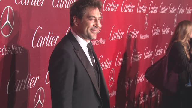 Javier Bardem at the 22nd Annual Palm Springs International Film Festival Awards Gala at Palm Springs CA