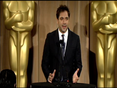 Javier Bardem at the 83rd Academy Awards Nominations Luncheon at Beverly Hills CA