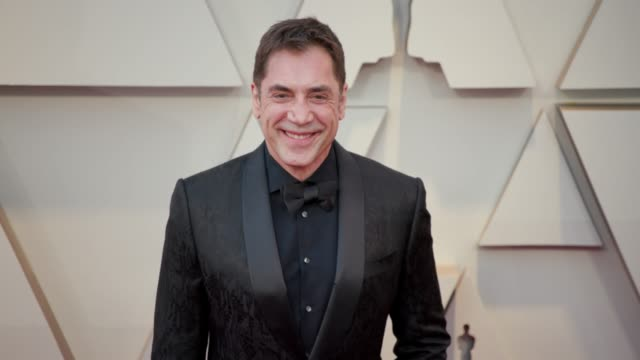 vídeos de stock e filmes b-roll de javier bardem at the 91st academy awards - arrivals at dolby theatre on february 24, 2019 in hollywood, california. - the dolby theatre