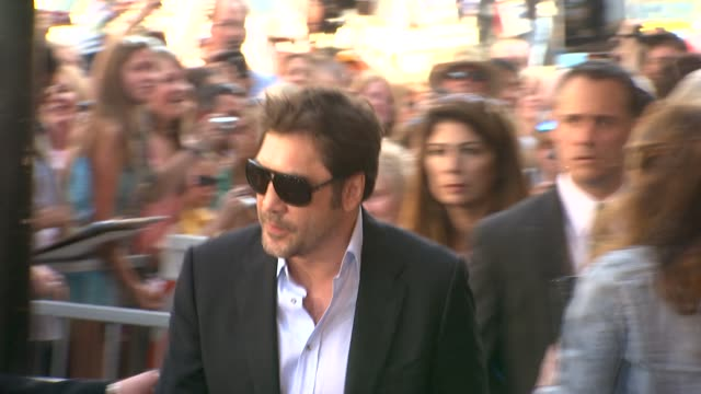 Javier Bardem at the Penelope Cruz Honored With A Star On The Hollywood Walk Of Fame at Hollywood CA