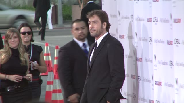 javier bardem at the 'vicky cristina barcelona' premiere at los angeles ca - javier bardem stock videos and b-roll footage