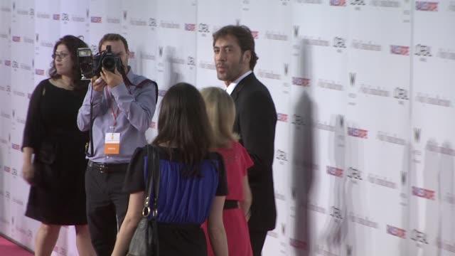 Javier Bardem at the 'Vicky Cristina Barcelona' Premiere at Los Angeles CA
