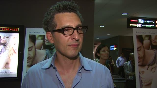 Javier Bardem John Turturro Live at the 'Vicky Cristina Barcelona' Premiere at New York NY