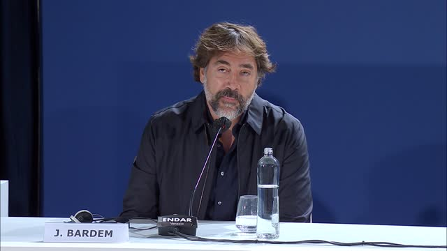 javier bardem on 'dune's environmental message and its relevance to now, plus his work as a green campaigner on september 2, 2021 in venice, italy. - press room stock videos & royalty-free footage