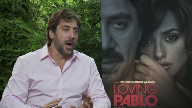 interview javier bardem on understanding that pablo escobar was a monster but also a human being and how important that is when playing characters... - javier bardem stock videos and b-roll footage