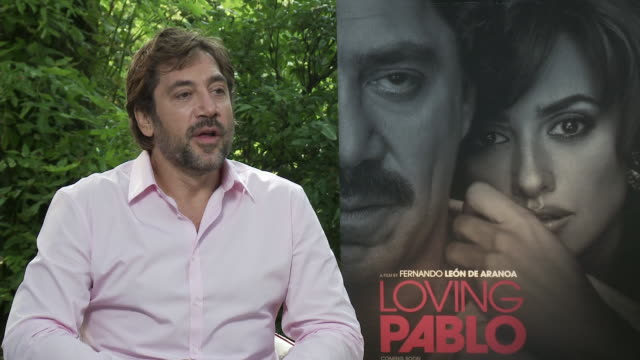 INTERVIEW Javier Bardem on whether or not he wore a fatsuit during filming and how Pablo's weight defined his movements and characteristics at...