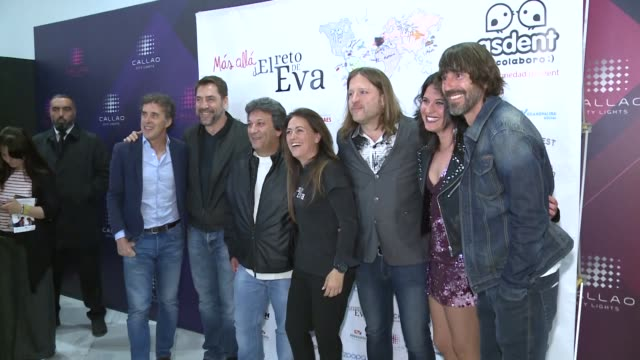 Javier Bardem Presents The Eva Challenge to Help The Fight Against Dent Illness