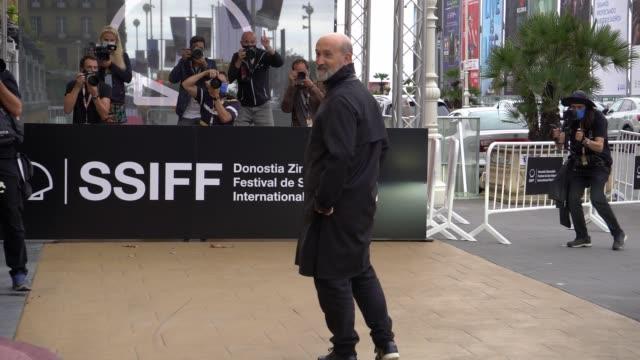 ESP: Javier Camara arrives in San Sebastian