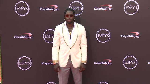 Jay Ajayi at The 2018 ESPYS at Microsoft Theater on July 18 2018 in Los Angeles California