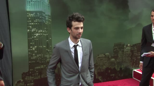 jay baruchel at the 'the sorcerer's apprentice' new york premiere arrivals at new york ny - jay baruchel stock videos and b-roll footage