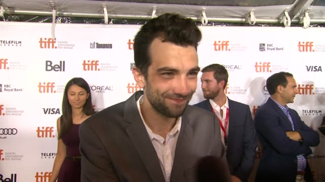 interview jay baruchel on taking over the festival at the art of the steal premiere 2013 toronto international film festival on 9/11/2013 in toronto... - jay baruchel stock videos and b-roll footage