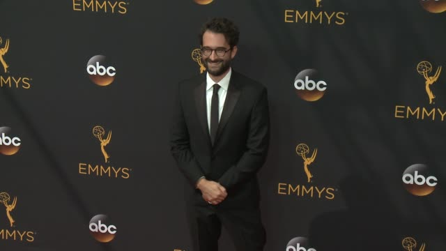 jay duplass at 68th annual primetime emmy awards - arrivals in los angeles, ca 9/18/16 - annual primetime emmy awards stock videos & royalty-free footage
