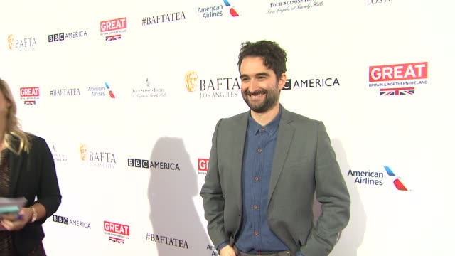 jay duplass at the bafta los angeles awards season tea party at four seasons hotel los angeles at beverly hills on january 09 2016 in los angeles... - tea party stock videos and b-roll footage