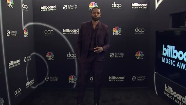 jay ellis at the 2020 billboard music awards - press room at dolby theatre on october 14, 2020 in hollywood, california. - the dolby theatre stock videos & royalty-free footage