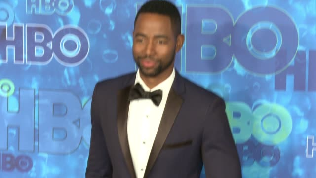 jay ellis at the hbo's post emmy awards reception - arrivals at the plaza at the pacific design center on september 18, 2016 in los angeles,... - pacific design center stock videos & royalty-free footage