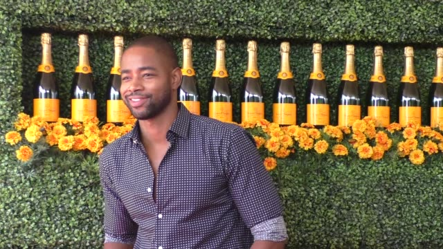 Jay Ellis at the sixth annual Veuve Clicquot Polo Classic at Will Rogers Historic State Park in Pacific Palisades at Celebrity Sightings in Los...