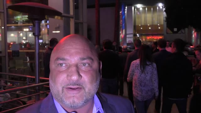 vídeos y material grabado en eventos de stock de jay glazer discusses johnny manziel's career outside the andre the giant premiere at arclight cinerama dome in hollywood in celebrity sightings in... - cinerama dome hollywood
