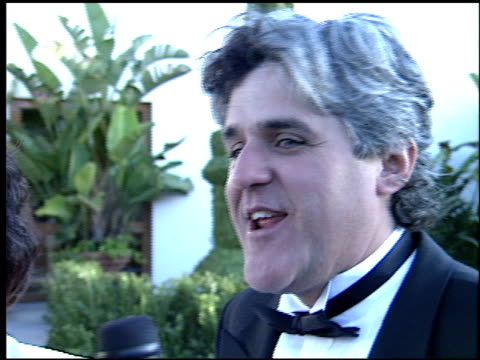 jay leno at the 1995 academy awards morton party at morton's in west hollywood california on march 27 1995 - 1995 stock-videos und b-roll-filmmaterial