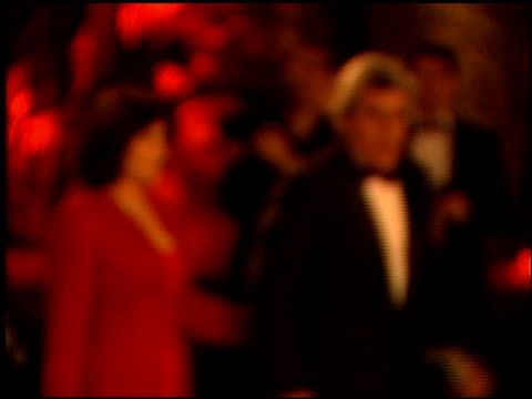 jay leno at the 1999 academy awards vanity fair party at morton's in west hollywood, california on march 21, 1999. - 71st annual academy awards stock videos & royalty-free footage