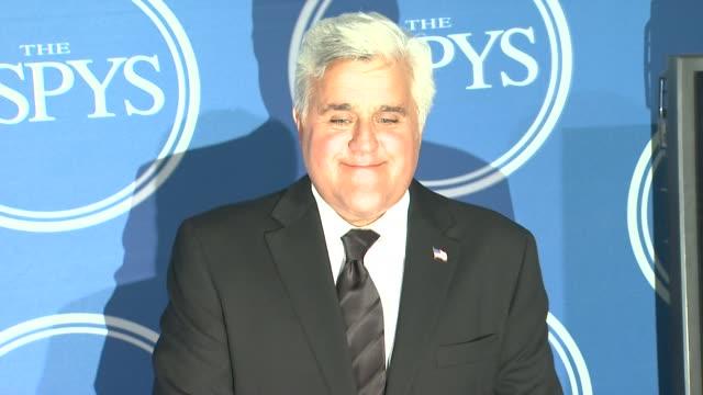 jay leno at the 2011 espy awards at los angeles ca. - espy awards stock videos & royalty-free footage