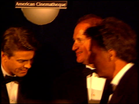 jay leno at the american cinematheque ball at the beverly hilton in beverly hills, california on september 13, 1997. - tv司会 ジェイ・レノ点の映像素材/bロール
