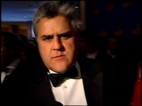 jay leno at the carousel of hope ball at the beverly hilton in beverly hills, california on october 28, 2000. - tv司会 ジェイ・レノ点の映像素材/bロール