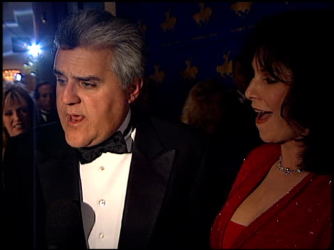 jay leno at the carousel of hope ball at the beverly hilton in beverly hills california on october 28 2000 - carousel of hope stock videos and b-roll footage