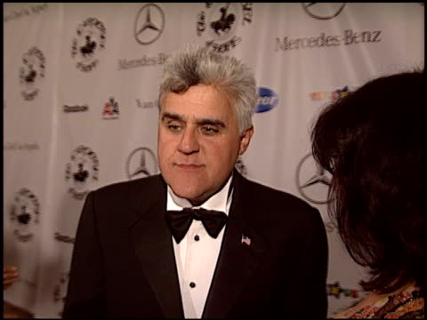 jay leno at the carousel of hope gala at the beverly hilton in beverly hills california on october 23 2004 - carousel of hope stock videos and b-roll footage