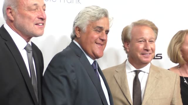 jay leno at the cedars-sinai board of governors 2015 annual gala at beverly hilton hotel in beverly hills in celebrity sightings in los angeles, - tv司会 ジェイ・レノ点の映像素材/bロール