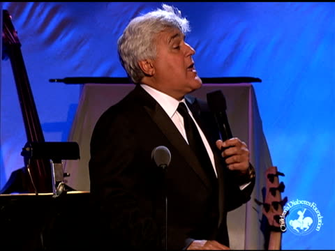 jay leno on the event at 26th anniversary carousel of hope ball on in beverly hills, ca. - tv司会 ジェイ・レノ点の映像素材/bロール